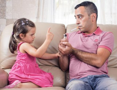 Arrêter de fumer pour donner l'exemple à votre famille